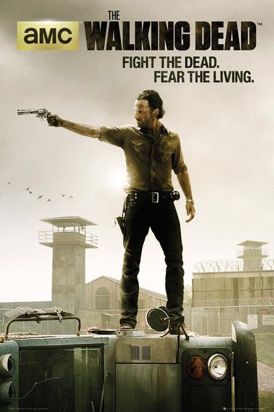 WALKING DEAD - season 3 Plakat