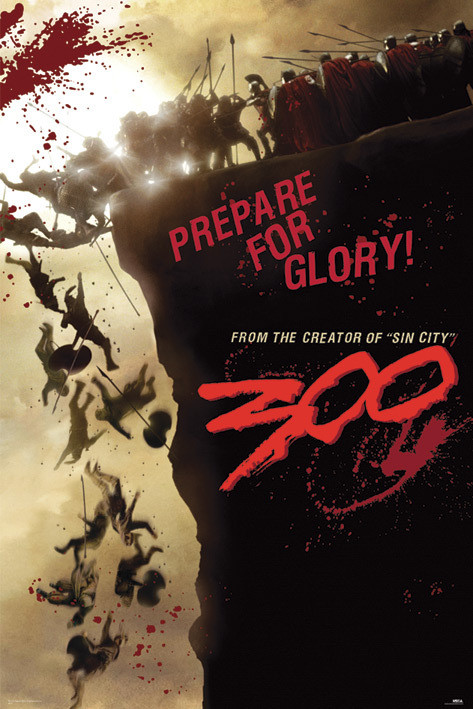 300 - cliff Poster