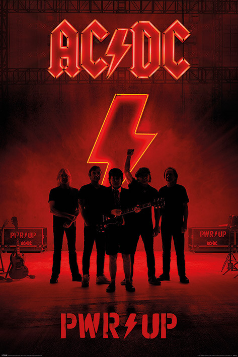 AC/DC - PWR/UP Poster
