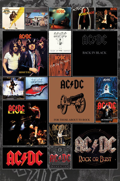 AC/DC - Covers Poster