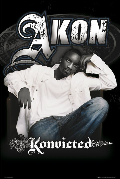 Akon - konvicted Plakat