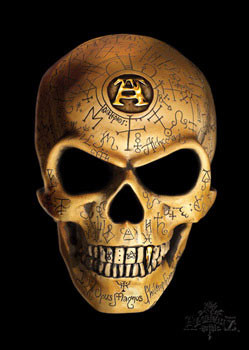 Alchemy - omega skull Poster