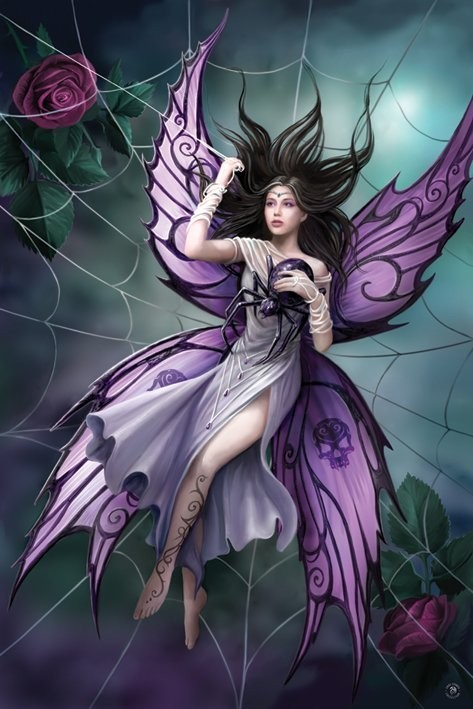 Anne Stokes - silk lure Poster