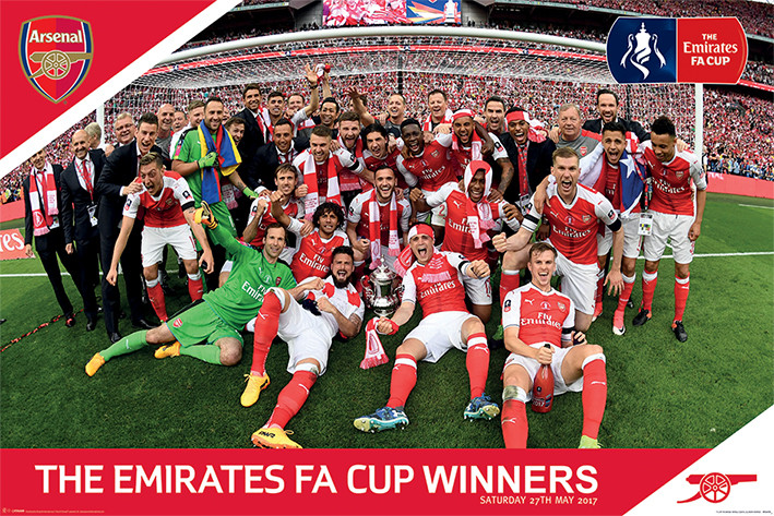 Arsenal FC - FA Cup Winners Poster
