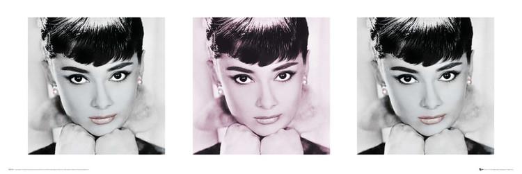 Audrey Hepburn - lips Poster