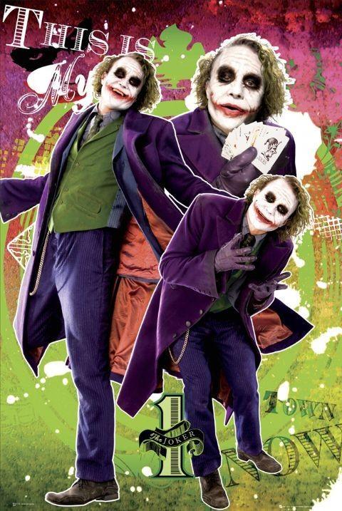 BATMAN - my town Poster