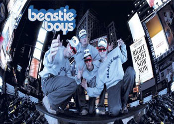 Beastie boys - new york Poster