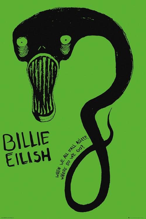Billie Eilish - Ghoul Poster