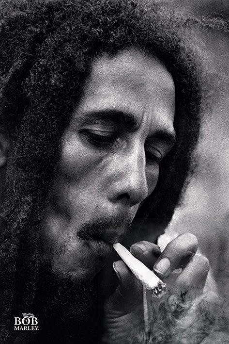 Bob Marley - Smoke Plakat