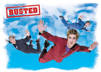 Busted - Flying Poster
