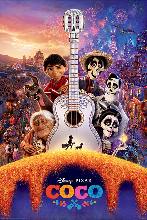 Coco - Guitar Poster
