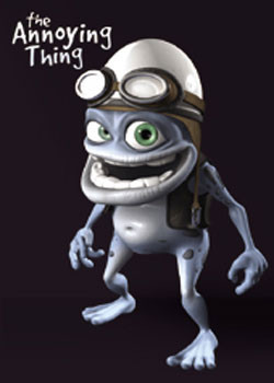 Crazy Frog - Black Plakat