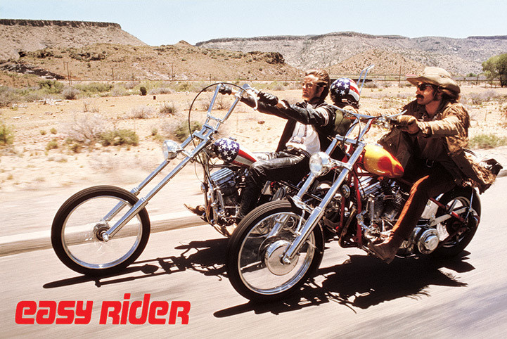 Easy rider - bikes Poster