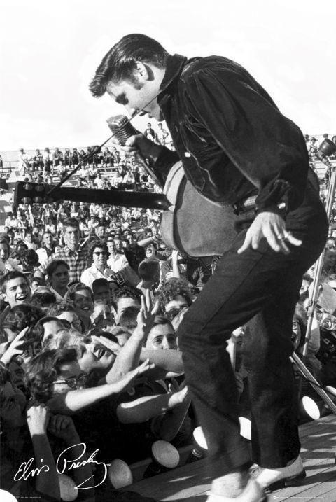 Elvis Presley - stage Poster
