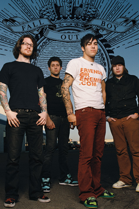 Fall out Boy - standing Poster