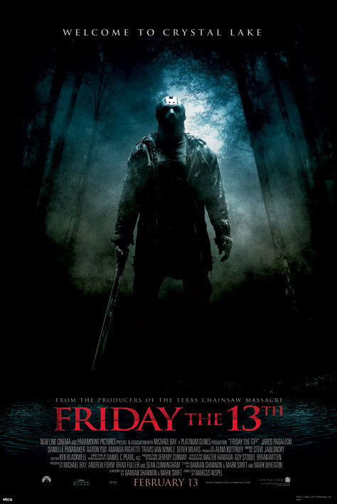 Friday the 13th Plakat