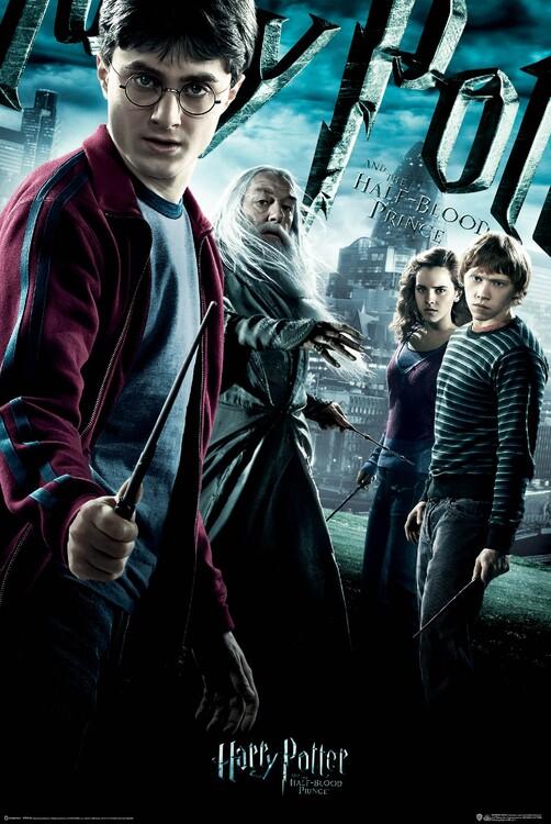 Poster Harry Potter in Polkrvni princ