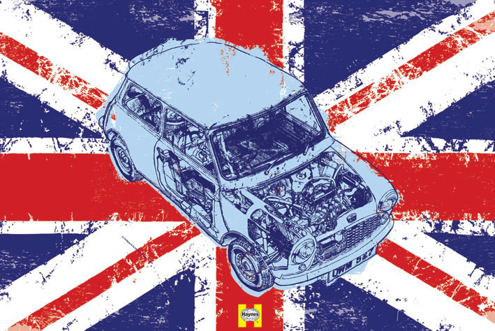 Haynes - mini union jack Plakat