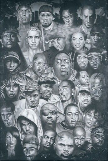 Hip Hop Plakat