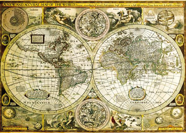 Historicka Mapa Sveta Plakat Poster Slika Europosterji Si