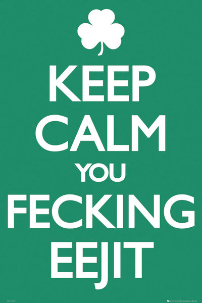 Ireland keep calm Poster