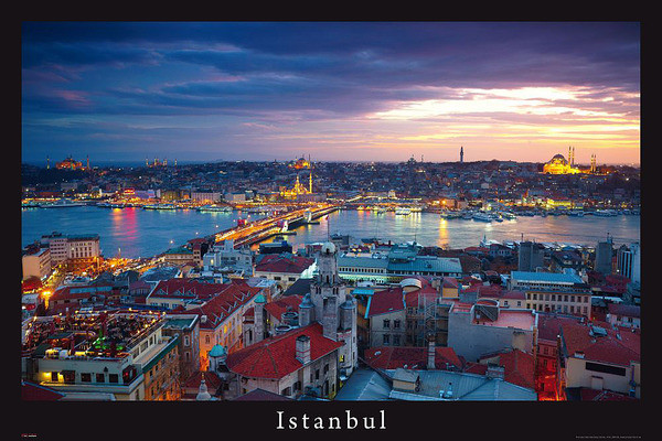Istanbul - turecko Poster