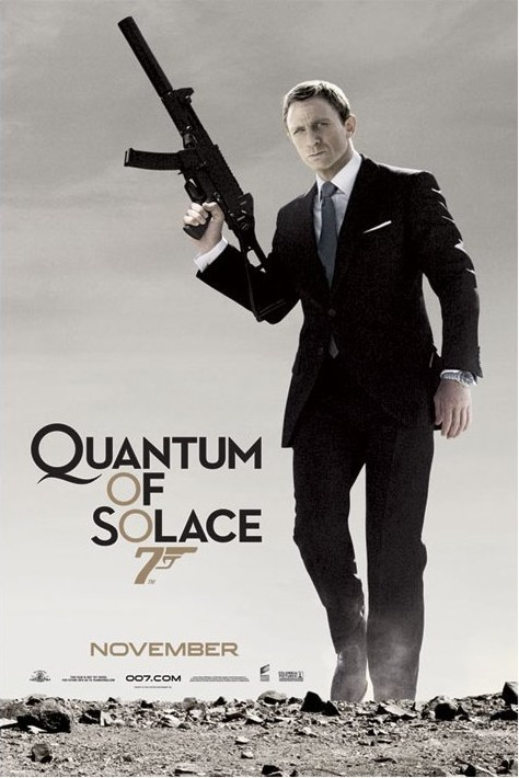 JAMES BOND 007 - quantum of solace  Poster