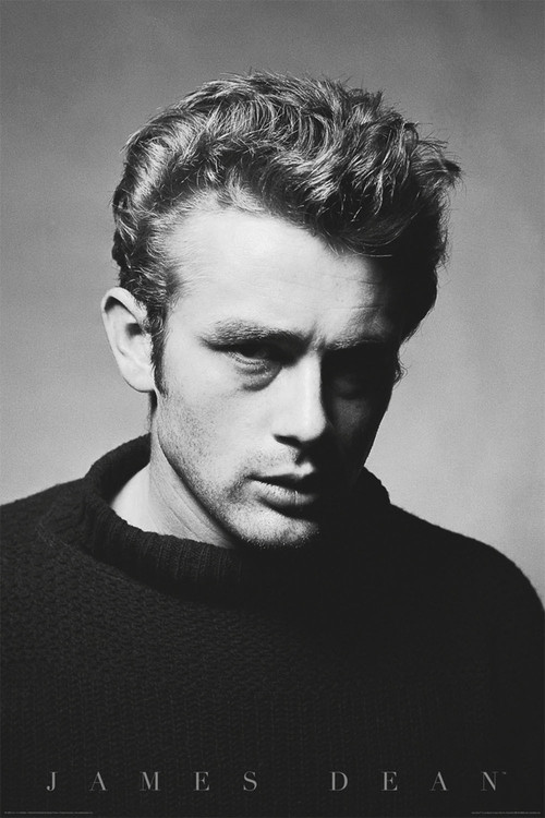 James Dean - portrait Poster