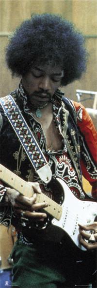 Jimi Hendrix - studio Poster