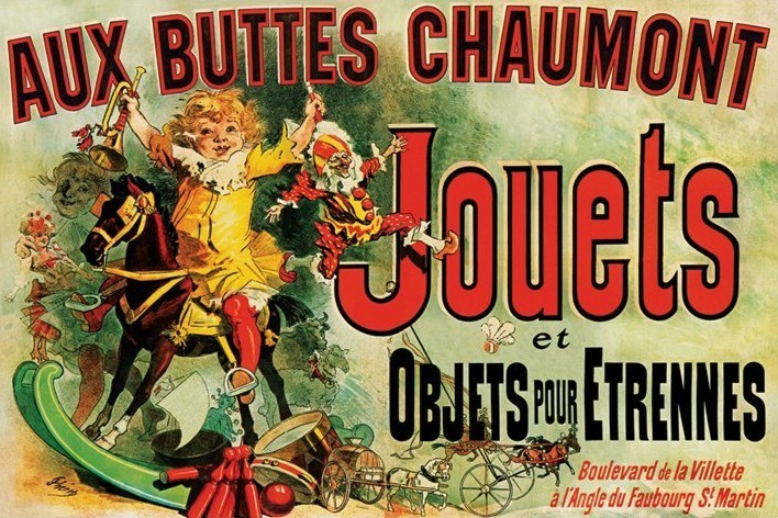 Poster JOUETS - as seen on friends/toys