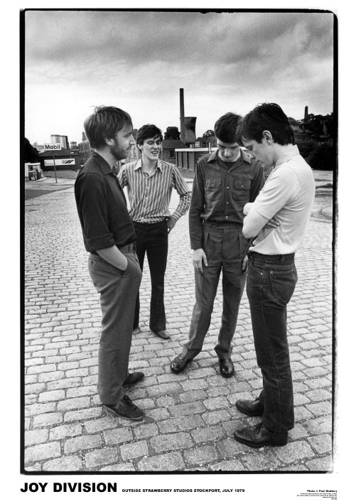 Joy Division - Strawberry Studios Poster