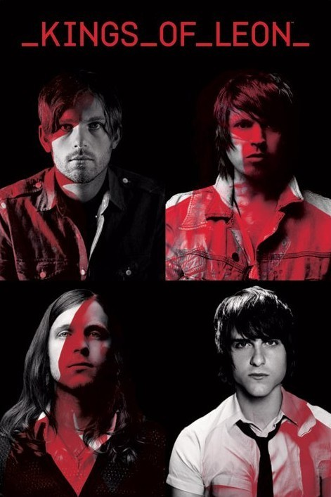 Kings of Leon – portraits Poster