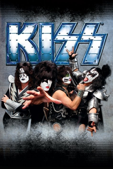 Kiss - monster Poster
