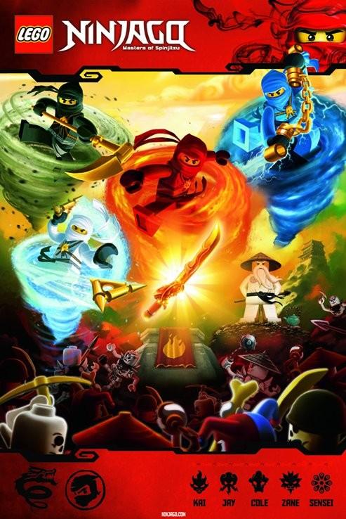 LEGO - ninjago Poster
