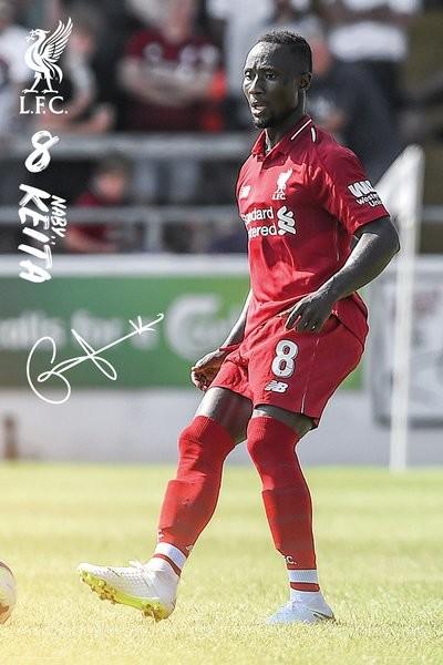 Liverpool - Keita 18-19 Poster