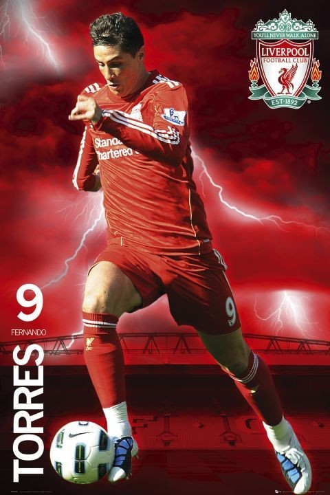 Liverpool - torres 2010/2011 Poster