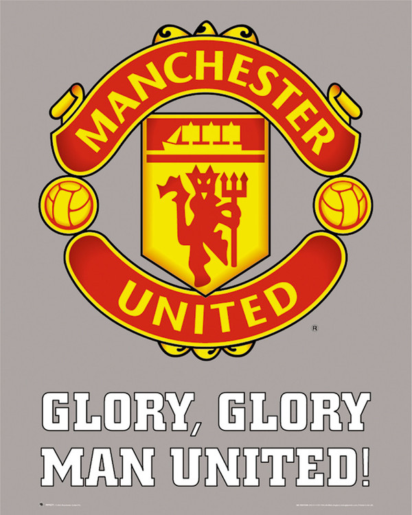 Manchester United - club crest Poster