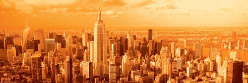 Manhattan - vanilla sky Poster