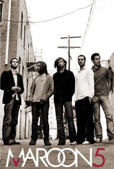 Maroon 5 - group Plakat
