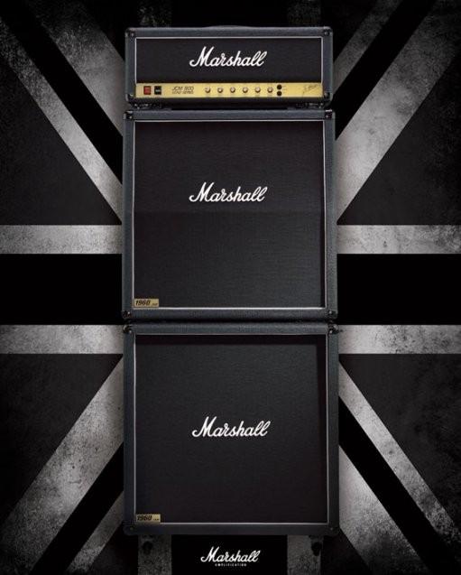 Marshall - stack Plakat
