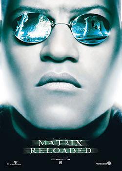 MATRIX - visage Morpheous Poster