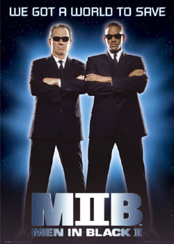 MEN IN BLACK  II - save Poster