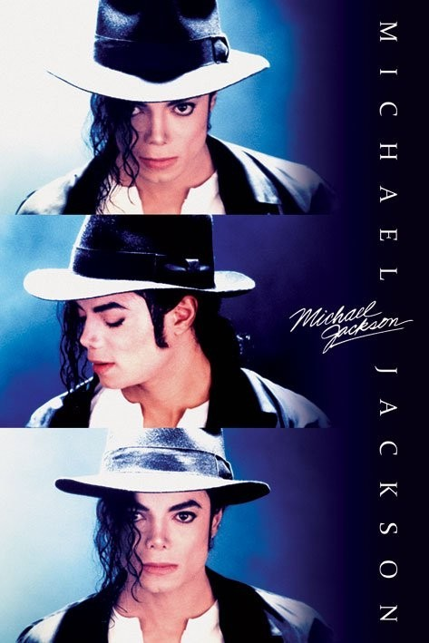 MICHAEL JACKSON - triptych Poster