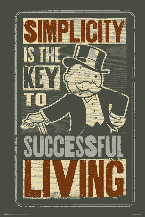 Monopoly - Simplicity Poster
