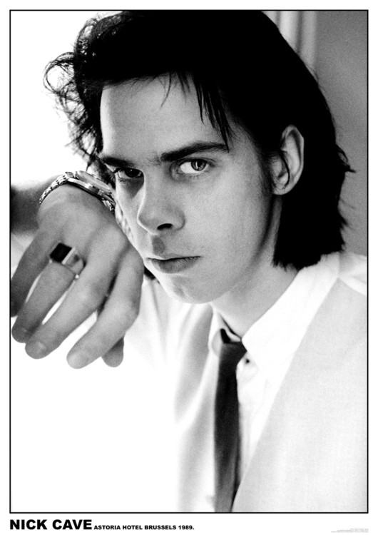 Nick Cave - Astoria Hotel, Brussels Poster