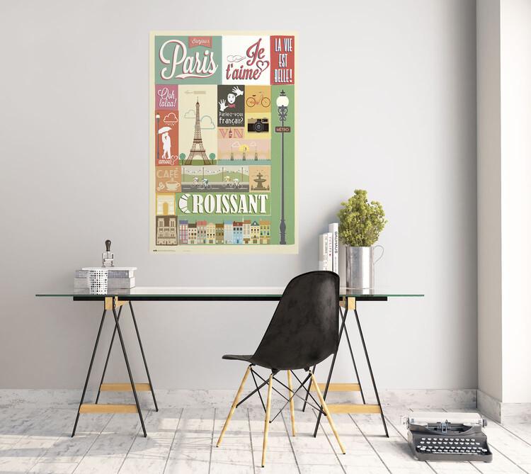 Poster Paris - Collage