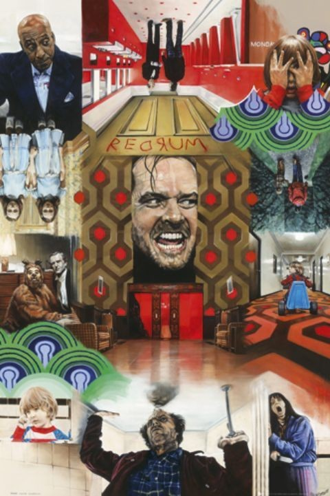 PAUL STONE - the shining Plakat