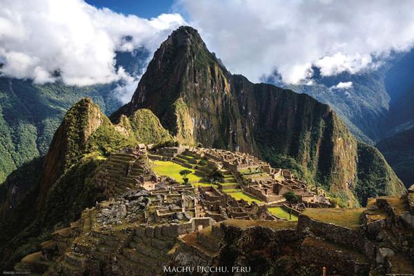 Peru - Machu Picchu Poster
