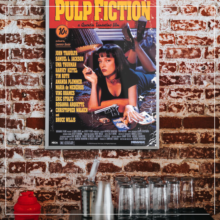 Poster PULP FICTION - cover