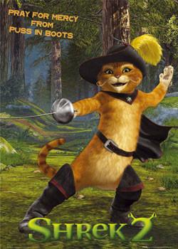 SHREK 2 - cat Poster